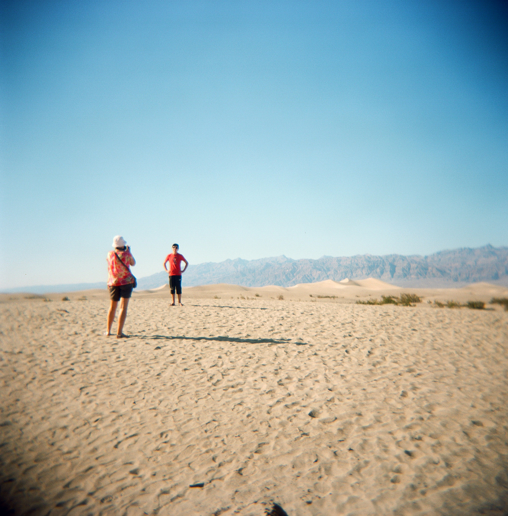 Holga, Death Valley, CA USA