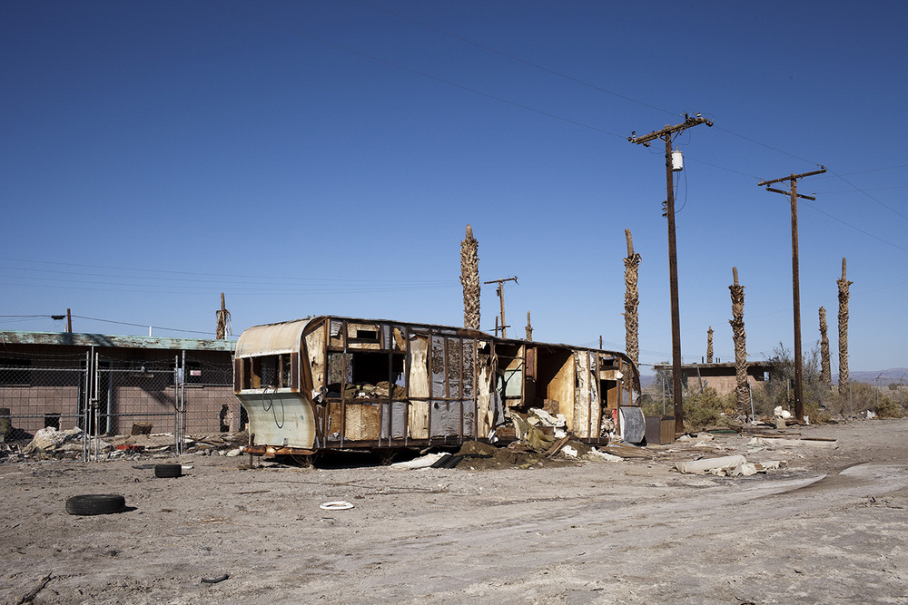 The Salton Sea, CA USA