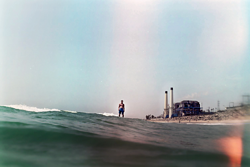NIKONOS II shot from El Porto Manhattan Beach, CA USA