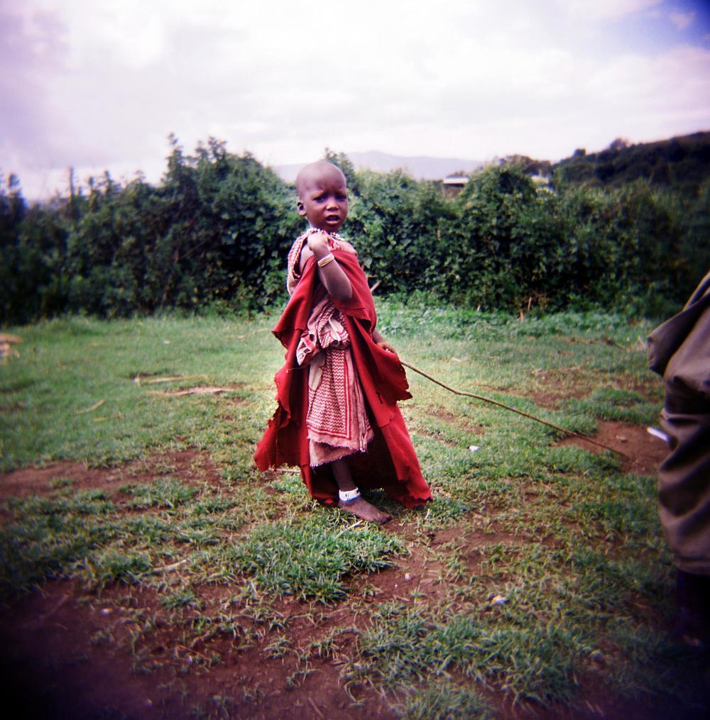 Holga, Ngorongoro Crater, Tanzania