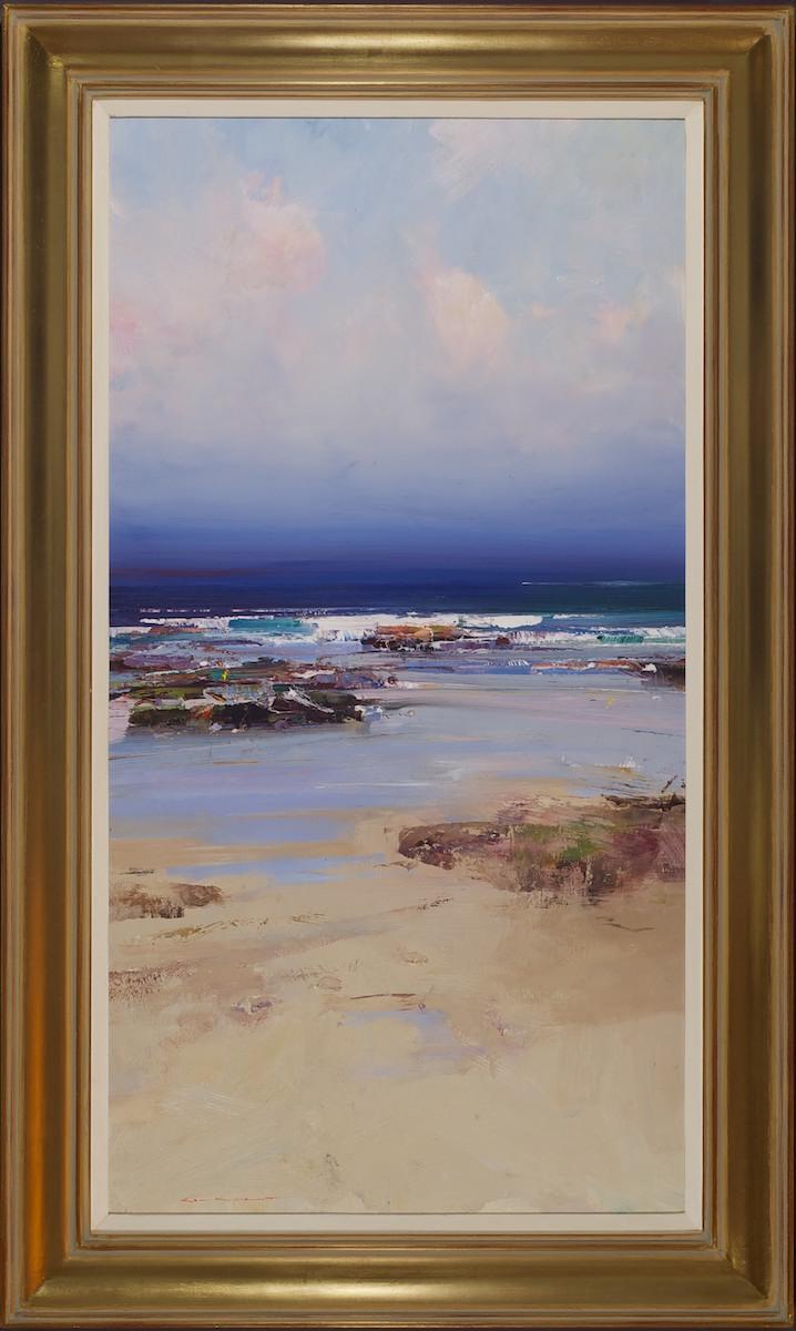 #14178 Ken Knight 'Rocks and Ocean' 112cm x 68cm $7800.jpg