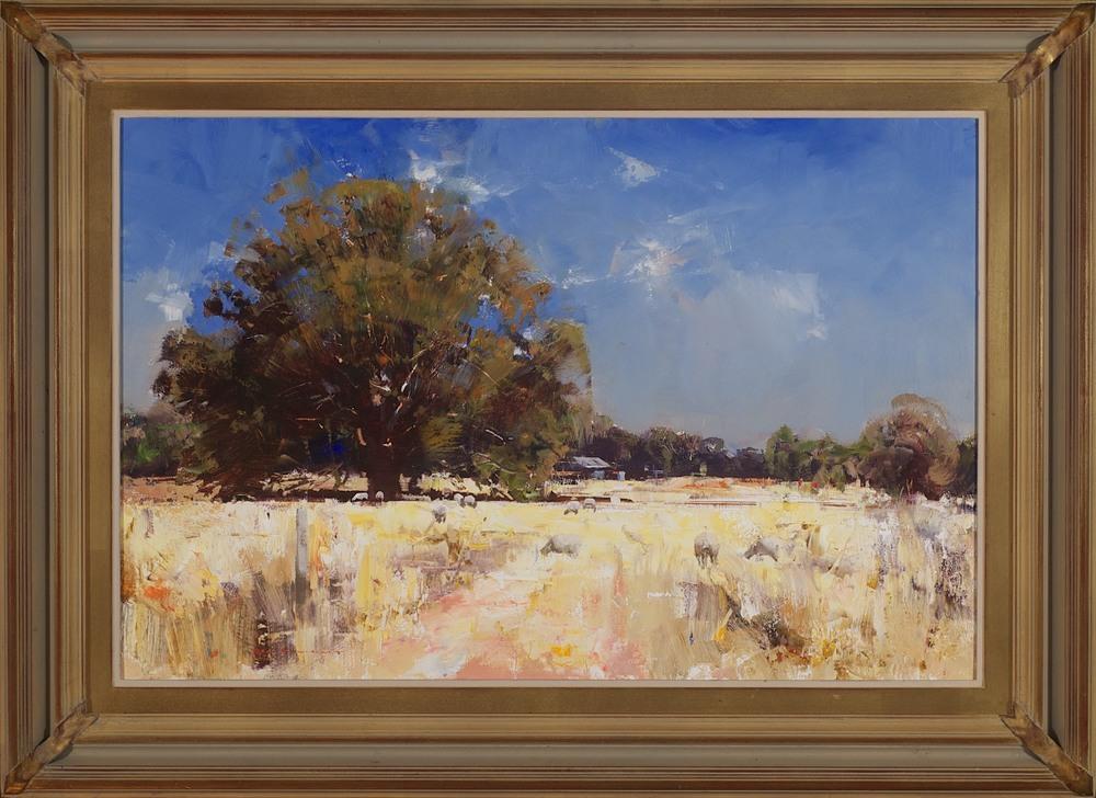 #14176 Ken Knight 'The home Paddock' 70cm x 96cm $6800.jpg