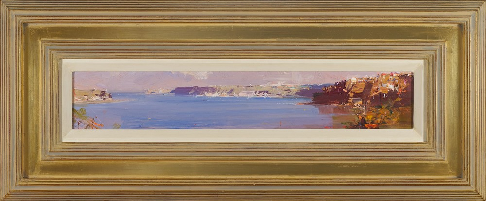 #14183 Ken Knight 'Harbour Panel' 32cm x 77cm $2800.jpg