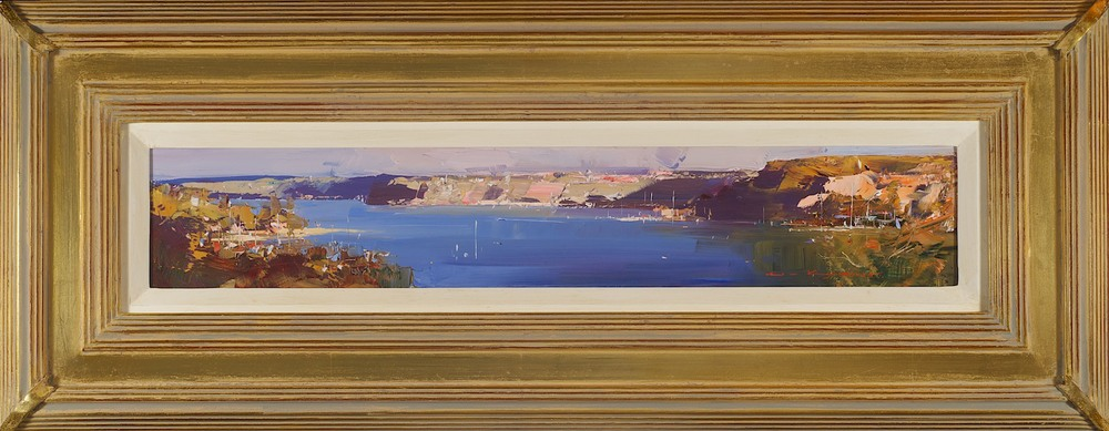 #14181 Ken Knight 'The quiet of evening' 34cm x 84cm $3800.jpg