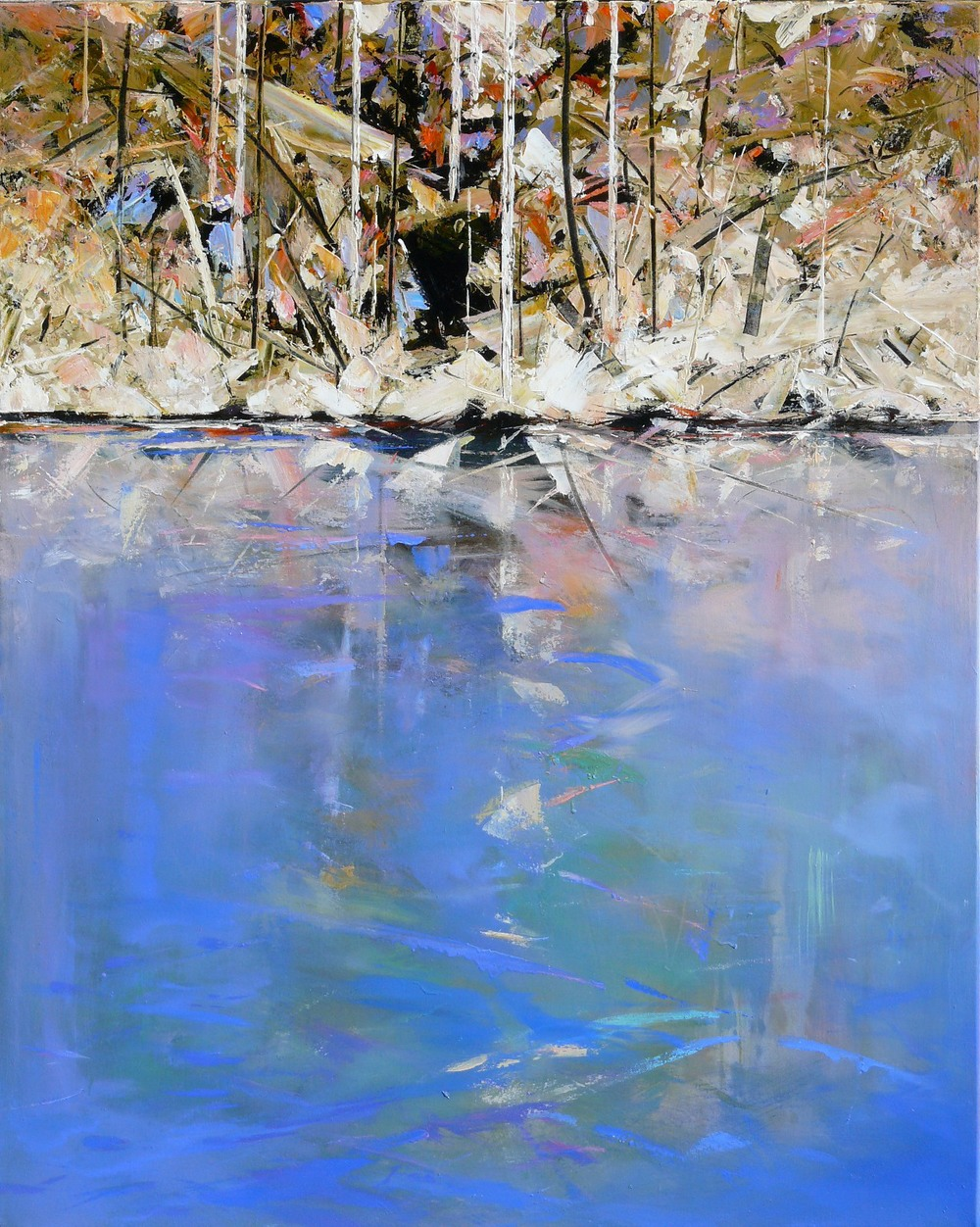 Paul Battams 'Akuna Bay' 150cm x 120cm