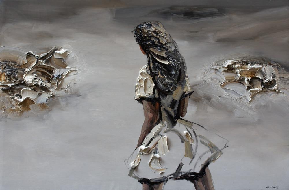 #14417 Palla Jeroff 'Outback Melody' 100cm x 150cm