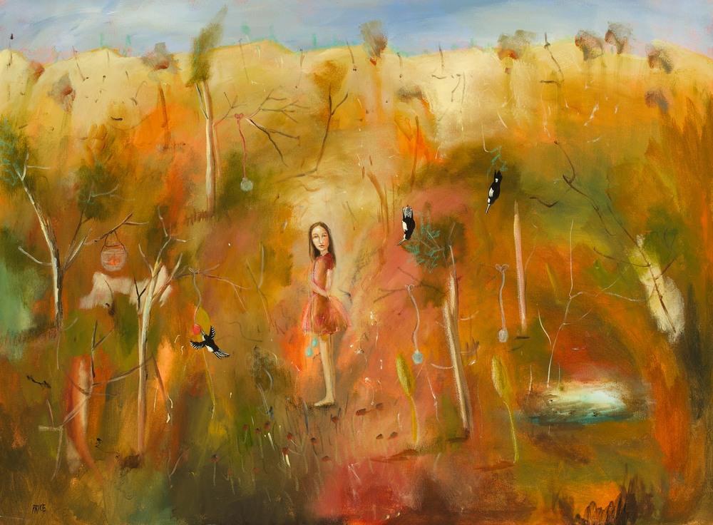 #13653 Terry Pauline Price 'Strange Surroundings' 102cm x 137cm $7800