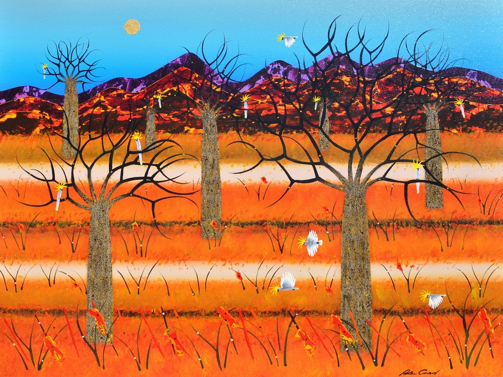 Boab Floodplain 90cm x 120cm canvas