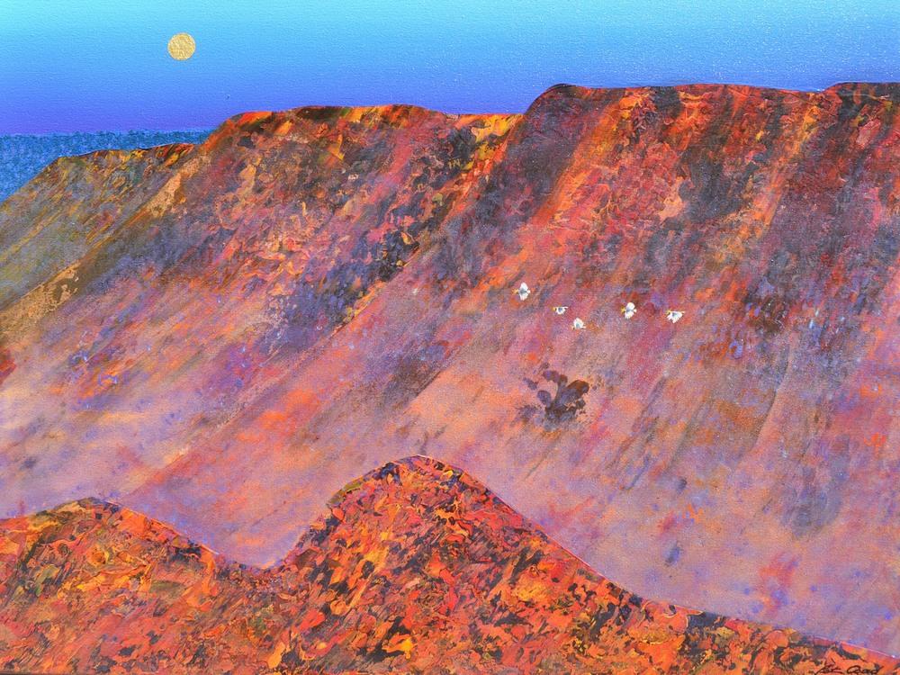 Echo Point Valley 1 - Blue Mountains 90cm x 120cm canvas
