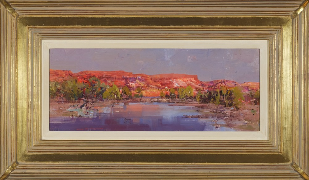 #13790 Ken Knight 'The Glow of Evening - Fortescue River' 42cm x 71cm $3,800.jpg