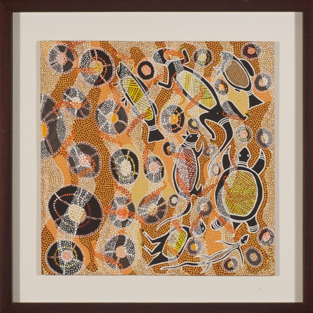 #7909 Robert Marsh 'Waves' 49cm x 49cm  Was $1880 Now $940