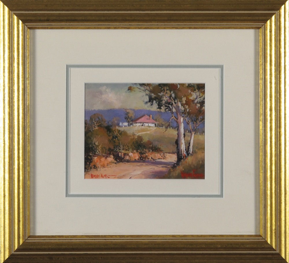 #9276. Werner Filipich. Kempsie Gums. 31cm x 34cm. Was $990 Now $693