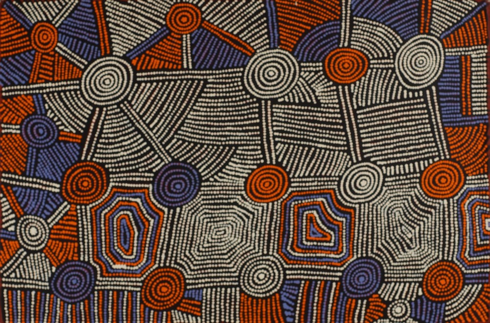 #13621 Monica Napaltjarri Jarra 'Tingari' 60cm x 90cm Was $1250 Now $990