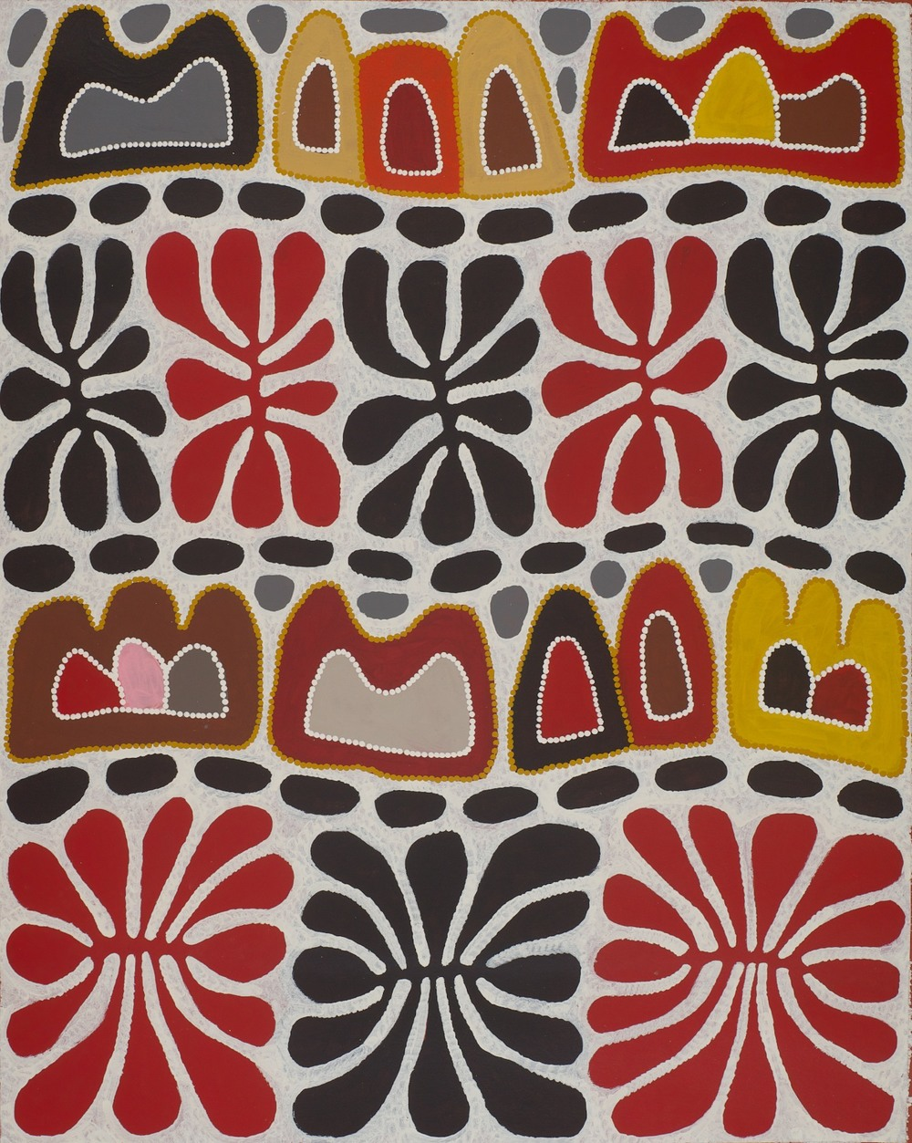 #13947 Mitjili Napurrula 'Watiya Tjuta Irantji - Dreaming with Clouds' 93cm x 117cm Was $2800 Now $2240