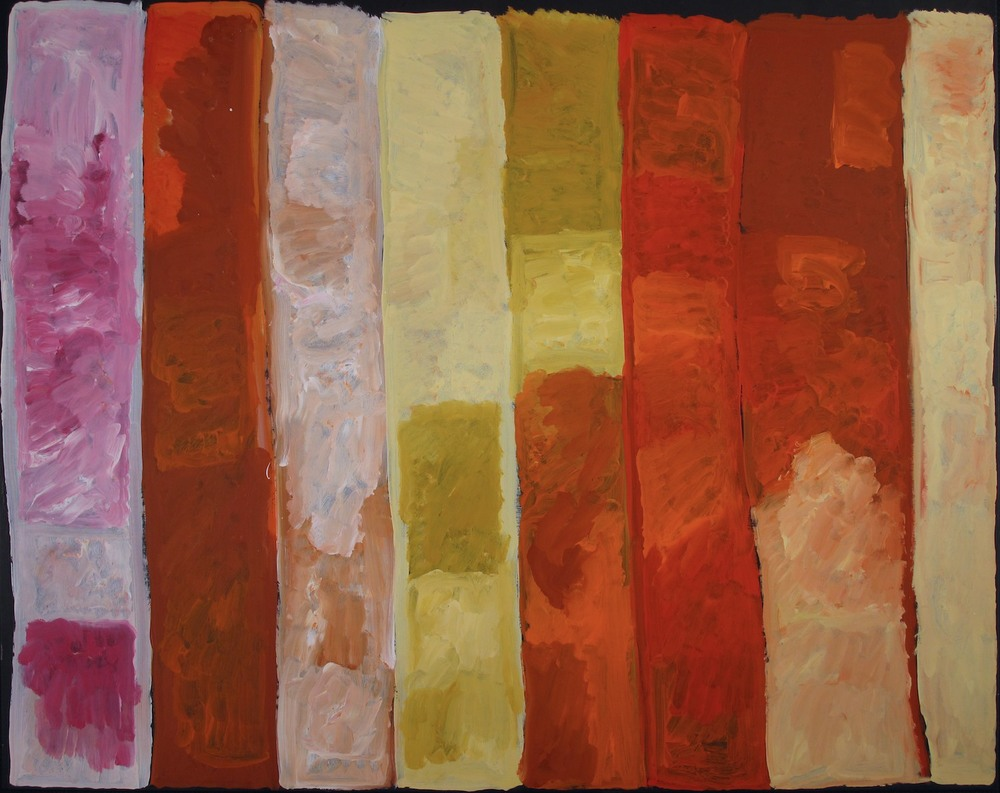 #14515 Kudditji Kngwarreye 'My Country' Acrylic on Linen 157cm x 176cm Was $14800 Now $11800