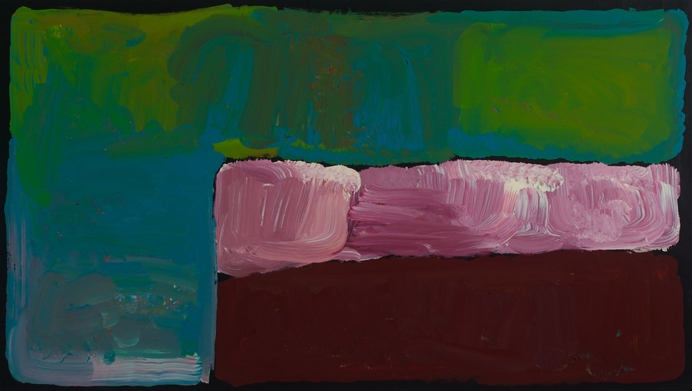 Kudditji Kngwarreye 'My Country' 120cm x 70cm Was $2650 Now $2200