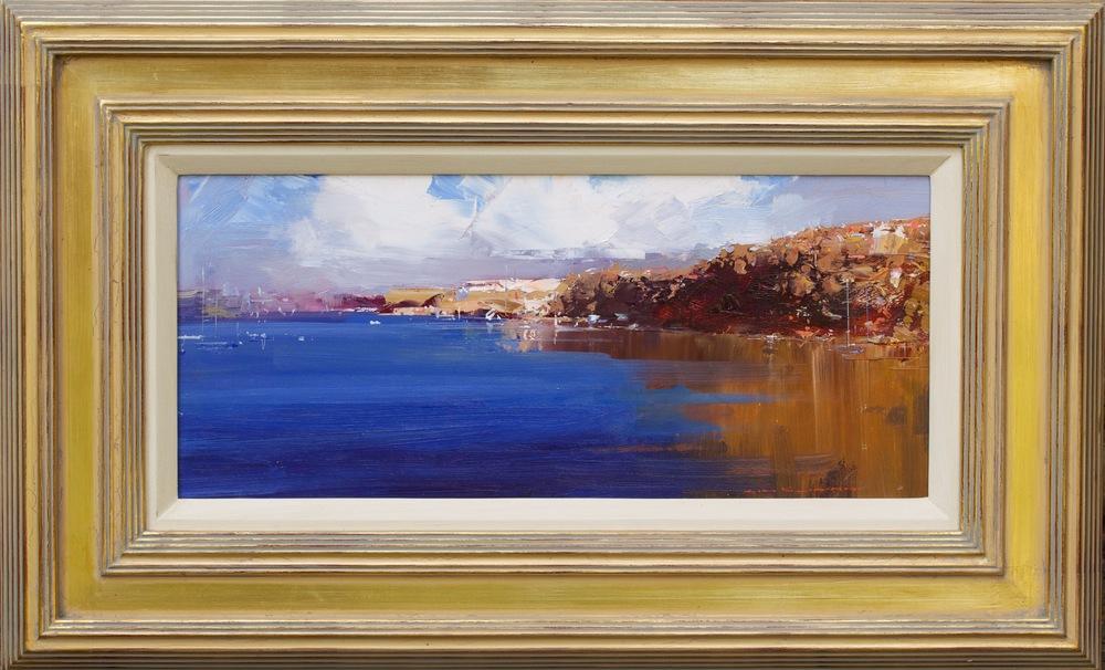 'The Harbour Blue' Ken Knight 72 x 45