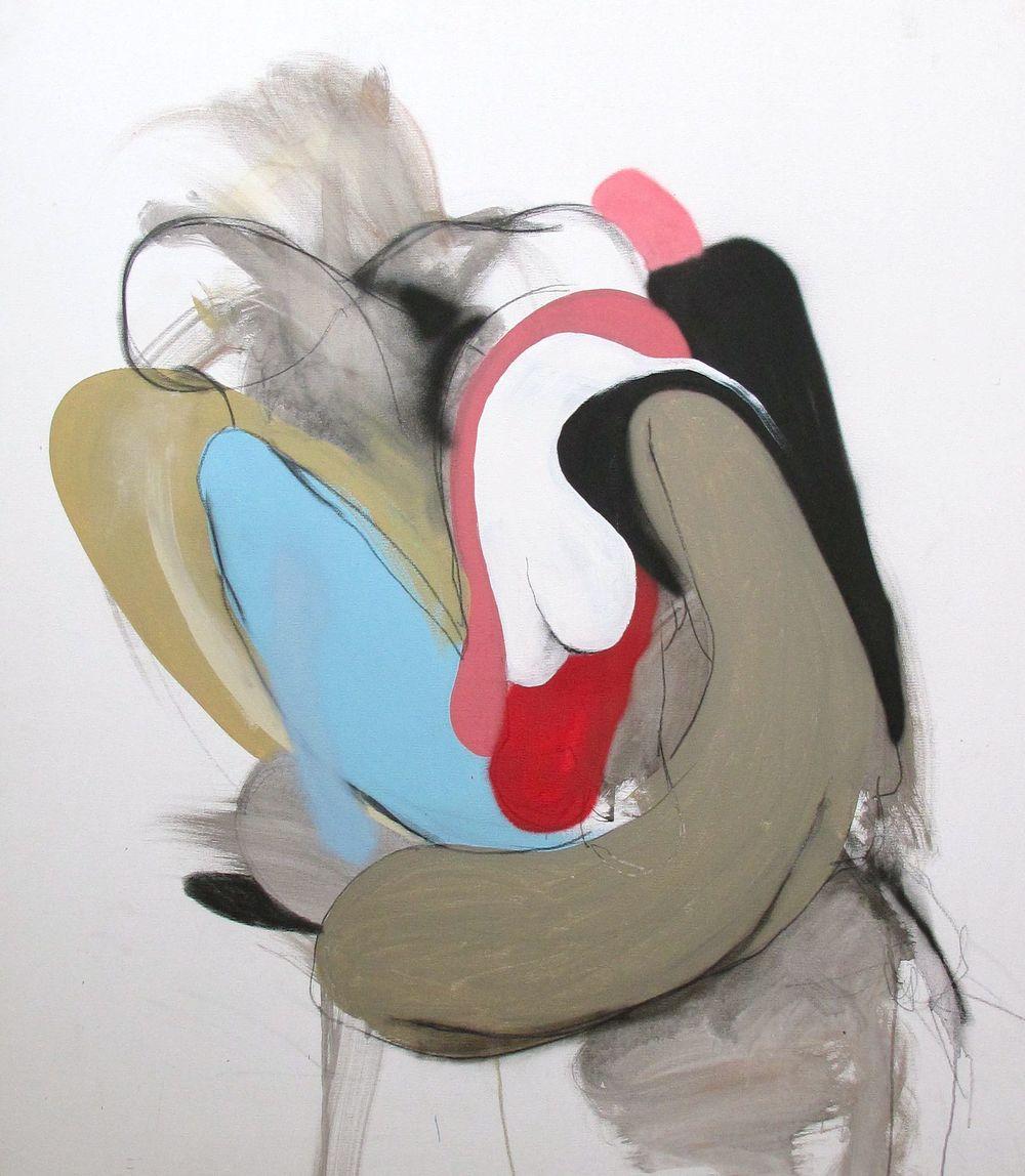 Caleb Reid 'White' 135cm x 116cm#14829