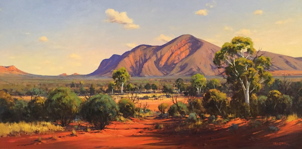 Ted Lewis 'Mt Conway NT West Macdonalds' Oil on Canvas  #14929