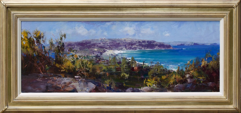 #14857 Ken Knight 'Barrenjoey' 63cm x 132cm