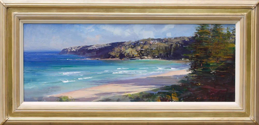 #14856 Ken Knight Ábove Palm Beach' 60cm x 123cm