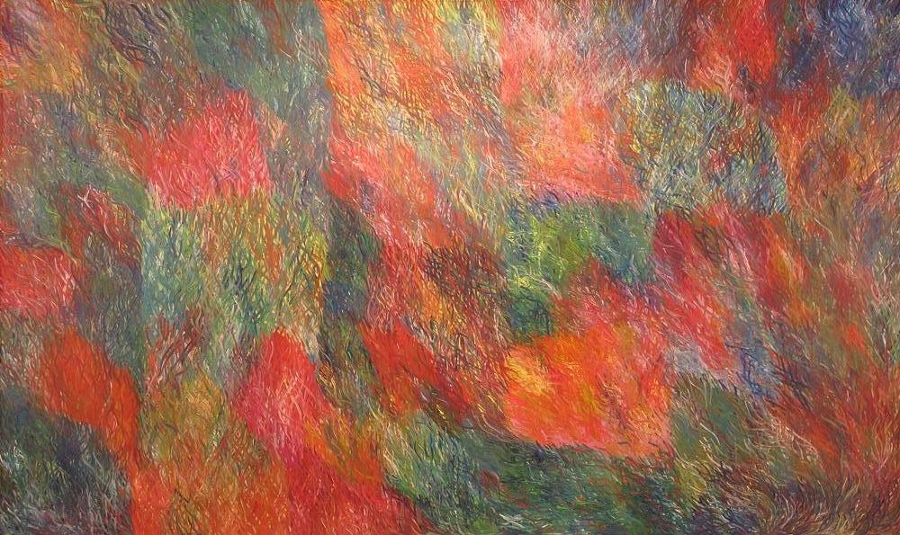 "Barbara Weir "" Grass Seed dreaming"" 305cm x 185cm #11399"