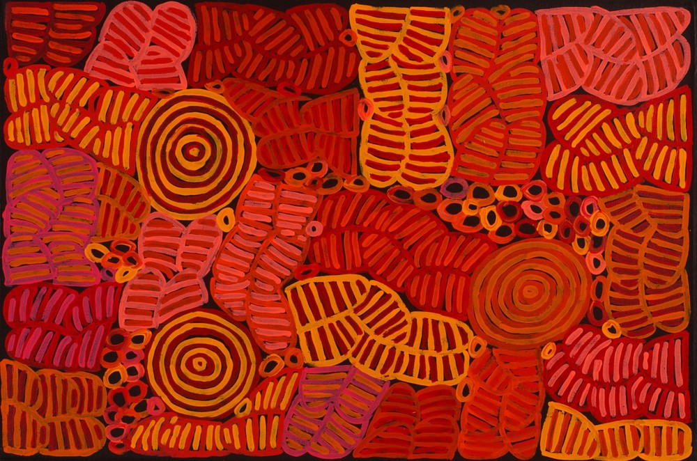 Betty Mbitjana 'Awelye' 60cm x 90cm  #13206