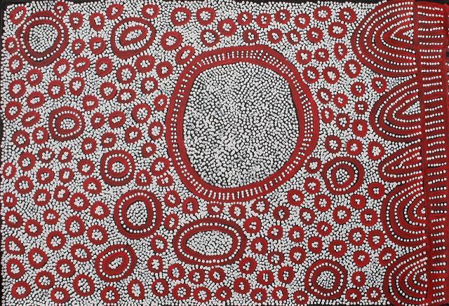 Yinarupa Nangala 'Ngamurru Dreaming' 60cm x 90cm #11767