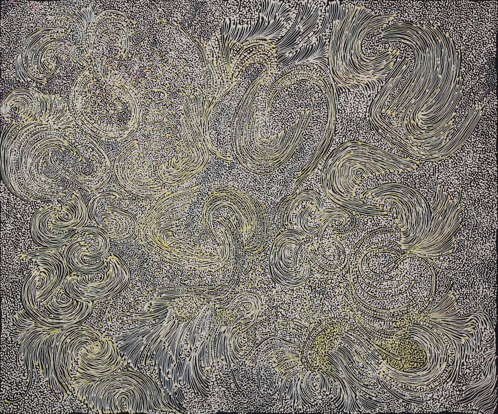 Jorna Newberry 'Walpa Tjukurpa' Acrylic on Linen 90cm x 75cm #15097