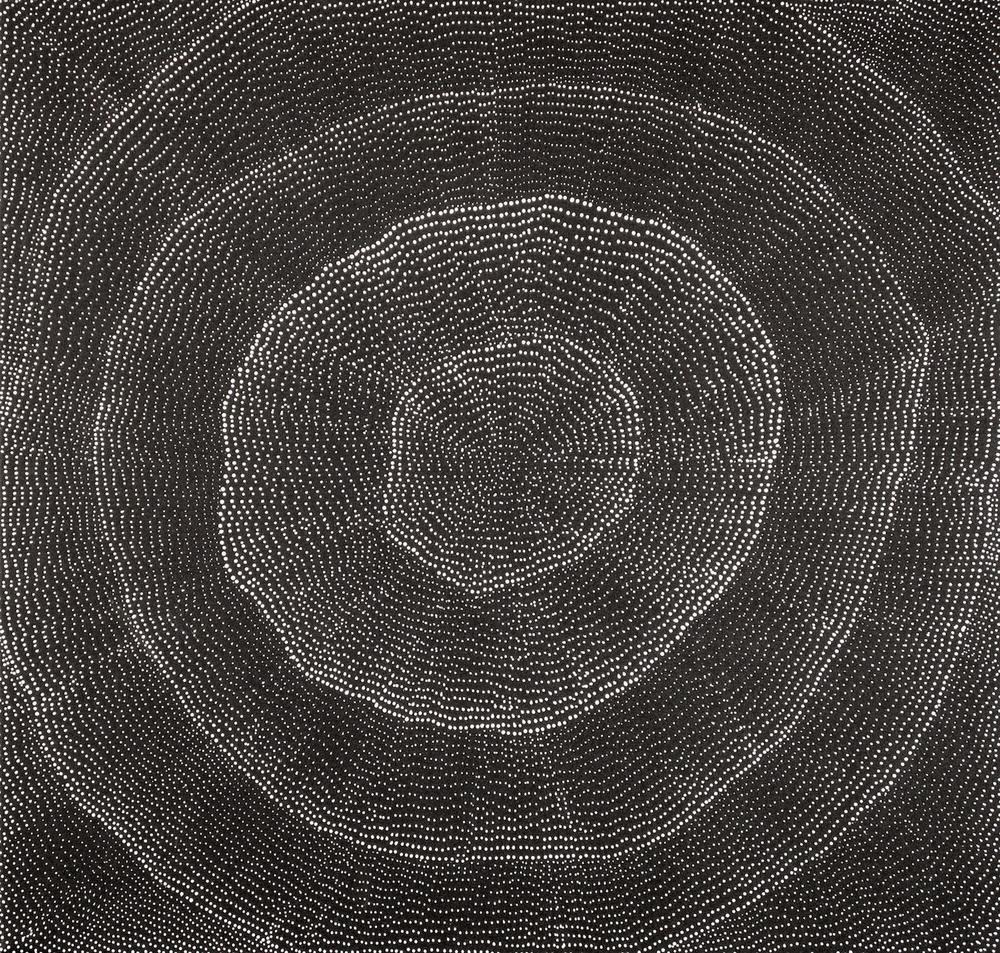 Lily Kelly 'Sand Hills' Acrylic on canvas 103cm x 107cm #14499