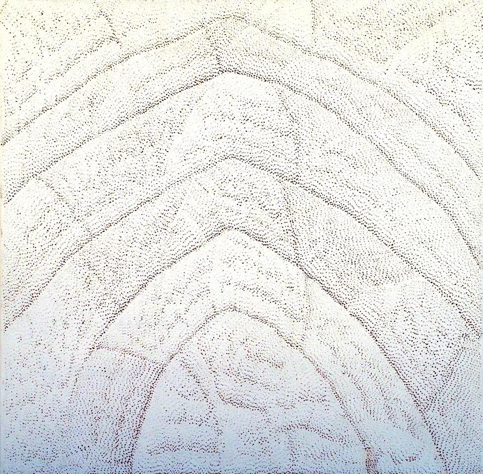 Lily Kelly Napangardi 'Tali Tali(Sandhills)' 150cm x 152cm #10698
