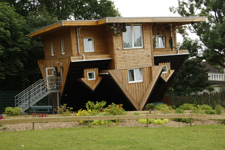 ... and a very artistic house