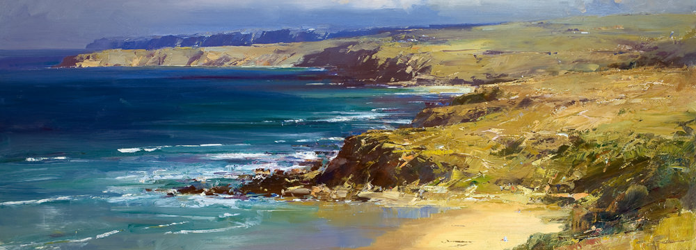 Ken Knight The Southern Ocean - Victor Harbour 90cm x 150cm