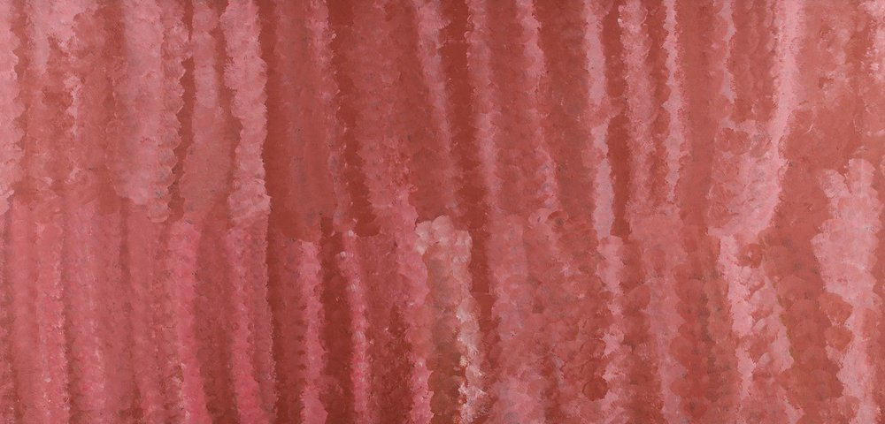 Emily Kngwarreye 'My Country' (1994) 167x80