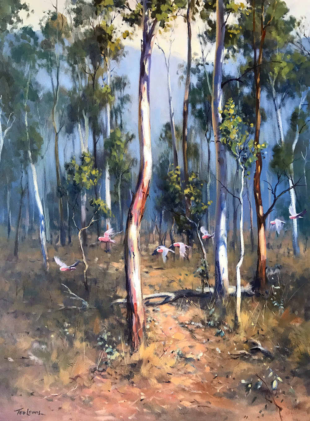 Ted Lewis Among the Saplings102x76 #17253