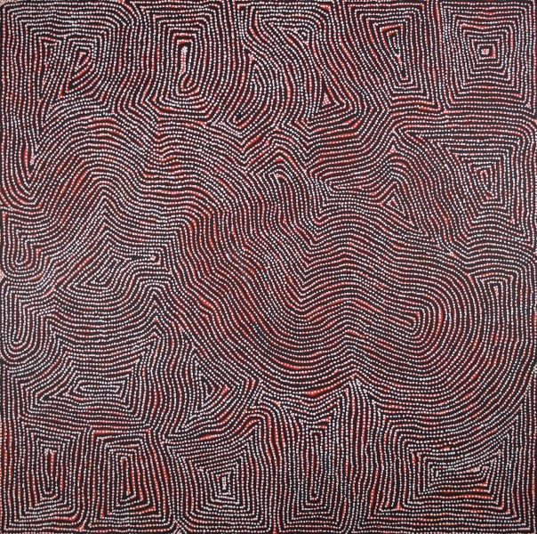 Charlie Tjapangati   Tingari  Acrylic on Linen 162 x 162 cm  $1800 / Year