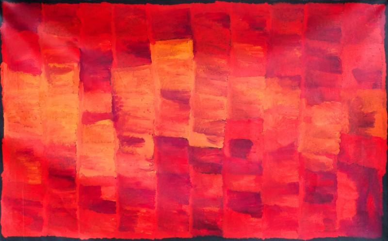 Kudditji Kngwarreye  My Country Acrylic on Linen 180 x 300 cm  $6250 /Year