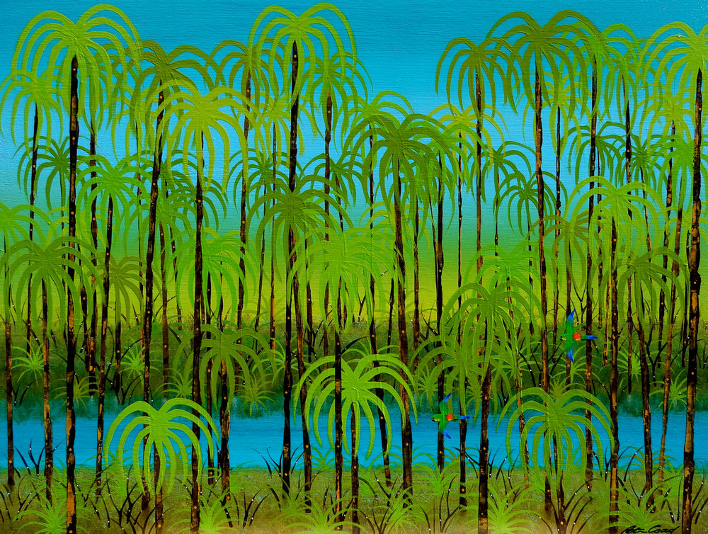 Rainforest - Byron Bay Series  90x120 #17665