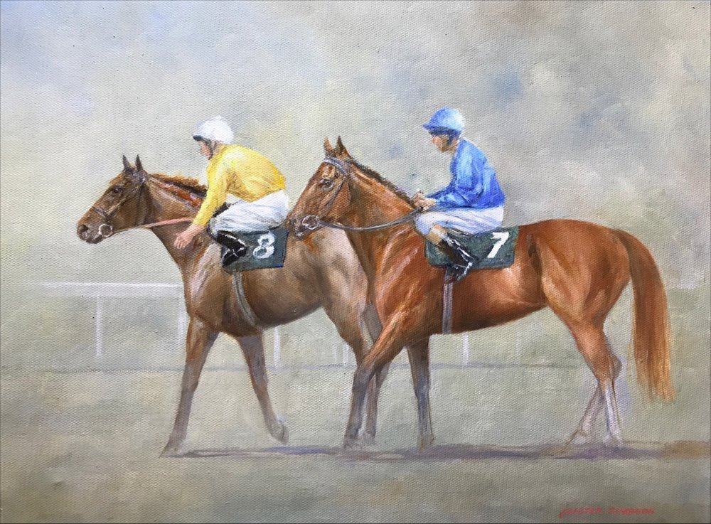 Alister Simpson 'After the Race' #17593