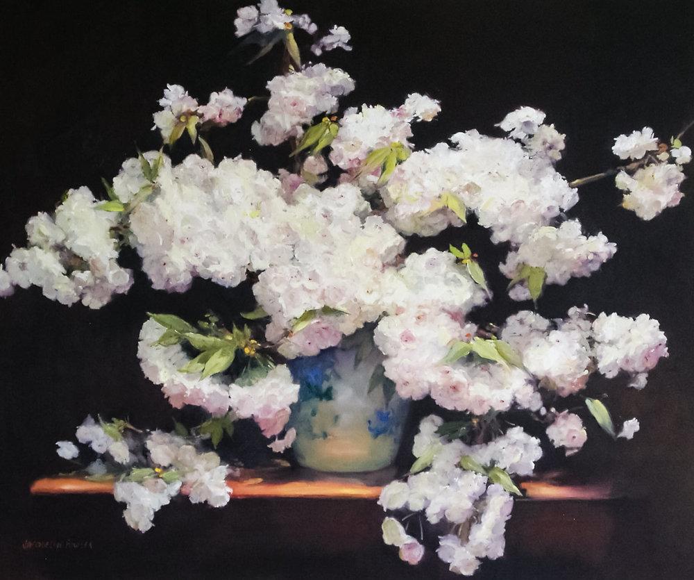 Jacqueline FowlerCherry Blossom, 2018 Oil on Canvas94 x 110 cm.jpg