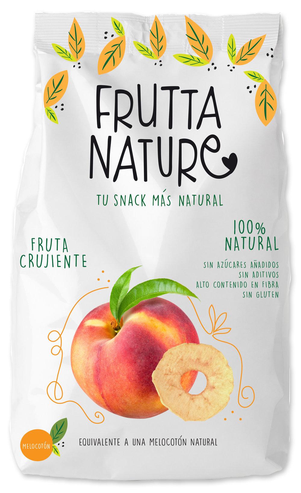 frutta nature. melocotón