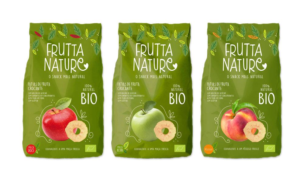BIO SNACK FRUTTA NATURE fruta crujiente saludable
