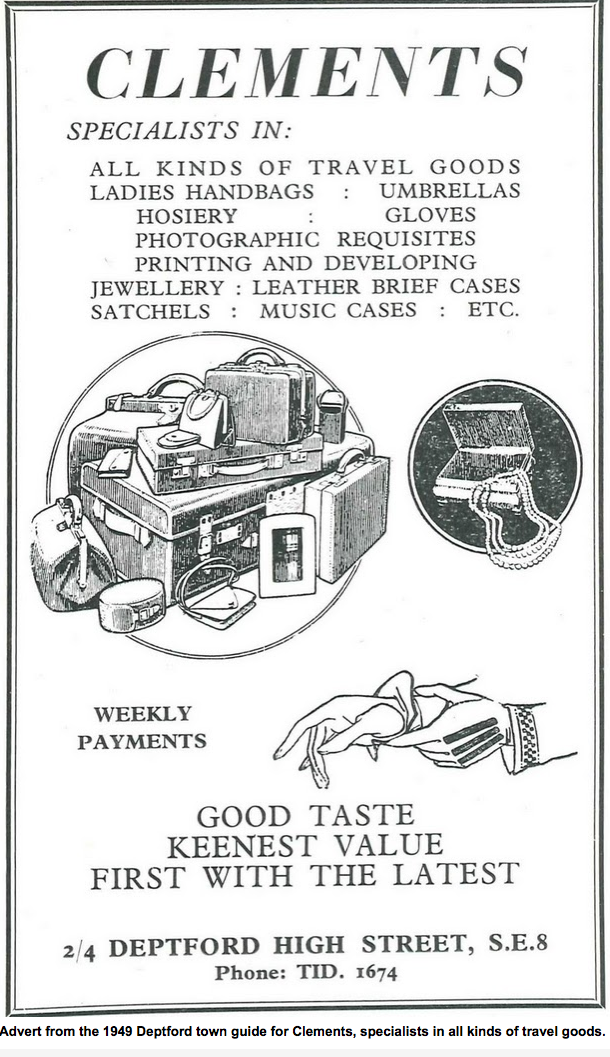 Advert from 1949 Deptford town guide.png