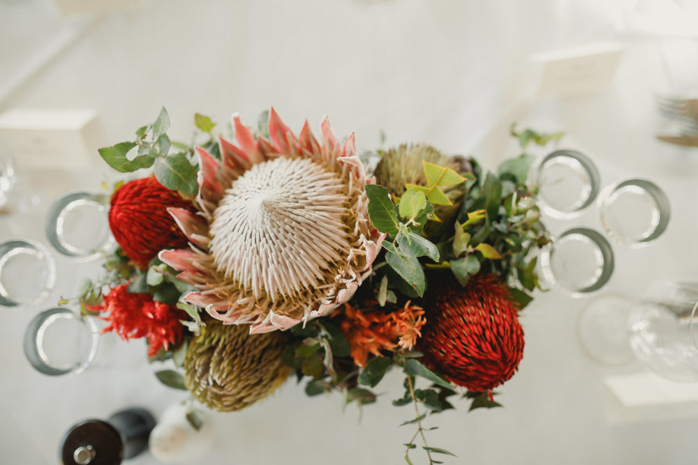 Australian natives table centerpieces.jpg