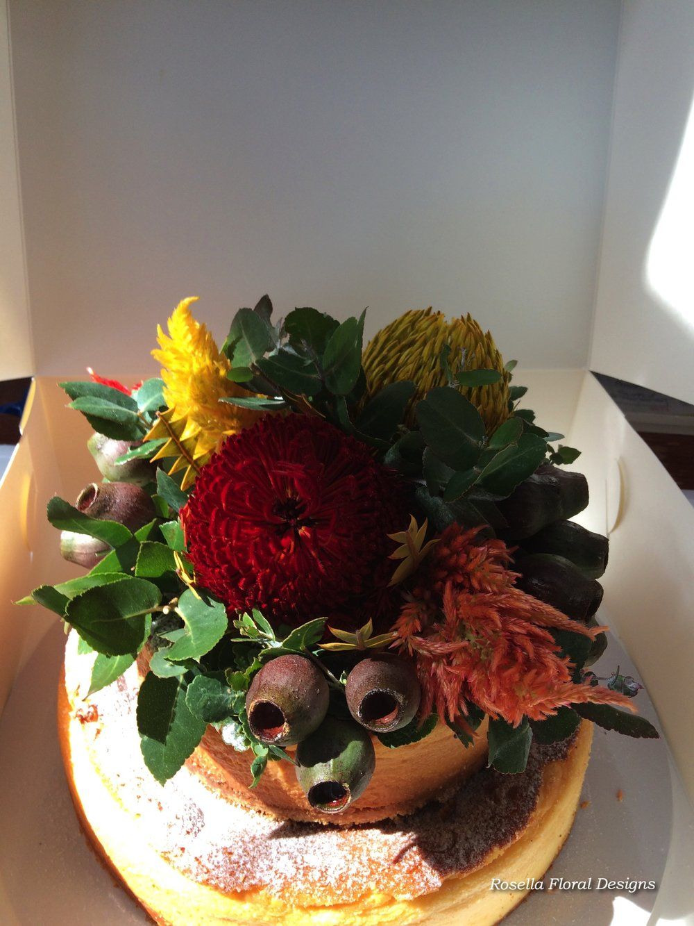 rustic cake flowers australian natives.jpg