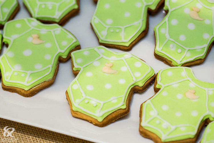 Baby cookies for baby shower green.jpeg