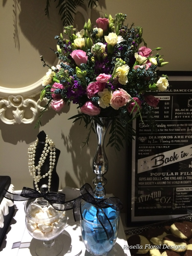 Tall floral table centerpiece silver .jpeg