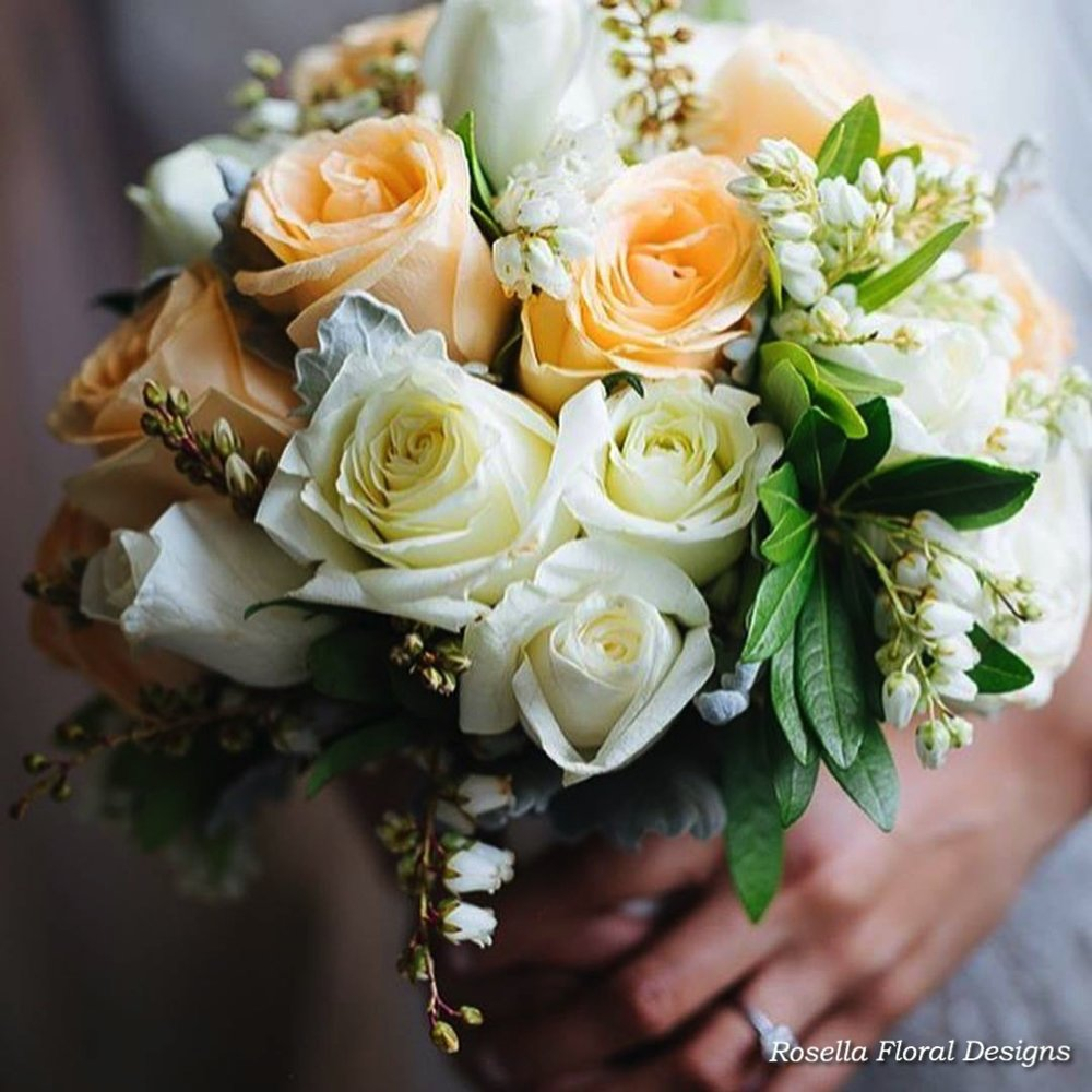 Bridal bouquet white peachy green.jpg