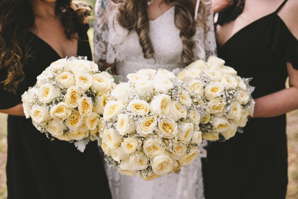 Cream roses, baby's breath bouquet bridal.jpg