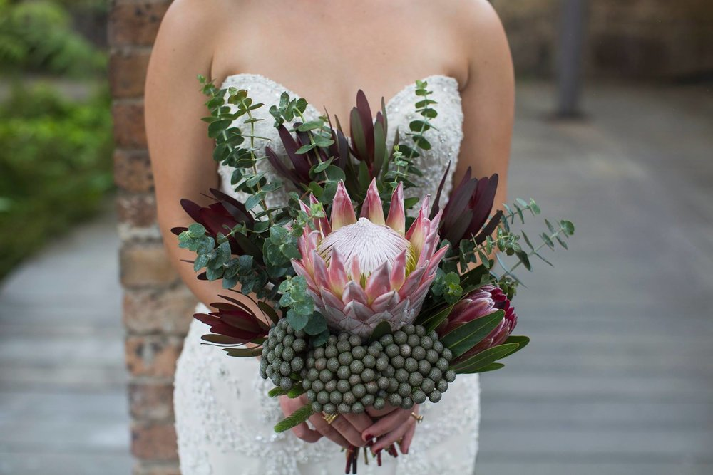 Bridal bouquet Australian natives.jpg